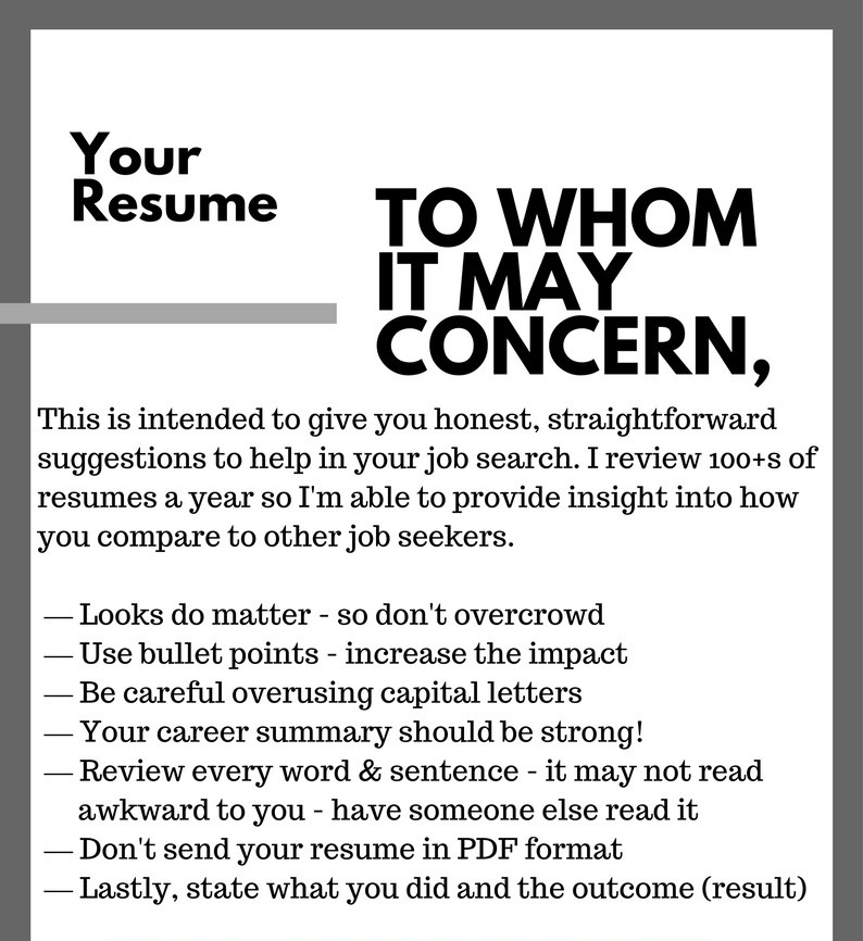 5 Key Points to Make Your Resume Stunning in 2018 | LinkedIn ...